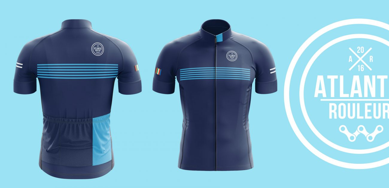 Atlantic Rouleur 17 Navy